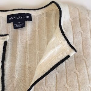 Ann Taylor Sweaters - Transitional cashmere sweater